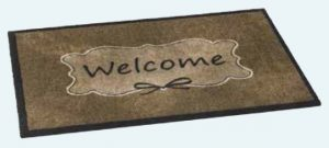Ambiance 717 Welcome barrier floor mat - barrier entrance mat