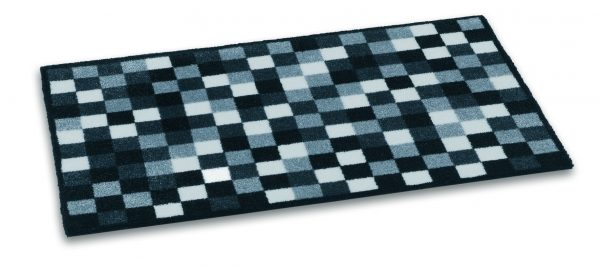 Ambiance 50 x 75cm coir door mat - barrier entrance door mat blues