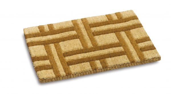 Coco Boutique Natural 40 x 68cm coir door mat - coir entrance mat