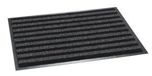 Broadway Indoor / Outdoor Scraper Grey / Black 60 x 80cm - outdoor entrance mat