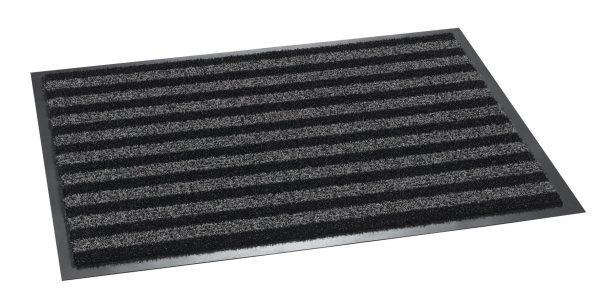 Broadway Indoor / Outdoor Scraper Grey / Black 60 x 80cm - outdoor entrance mat
