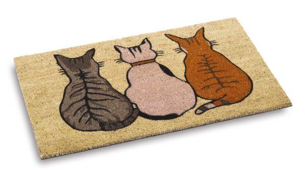Vico Mat cats coir door mat - coir entrance mat