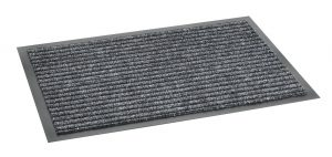 Clifden Anthracite 60 x 80cm barrier mat - barrier entrance floor mat
