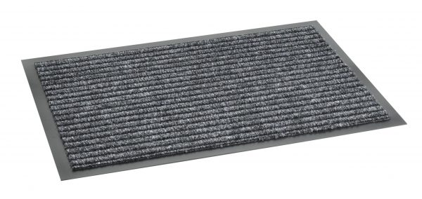 Clifden Anthracite 60 x 80cm barrier mat - barrier entrance floor mat