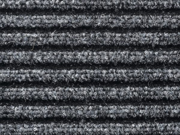 Clifden Anthracite 60 x 80cm barrier floor mat - barrier entrance mat