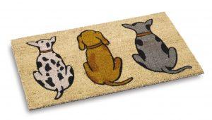 Vico Mat Dogs coir door mat - coir entrance mat