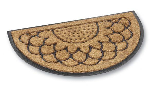 Fitzroy clouds coir door mat - coir entrance mat