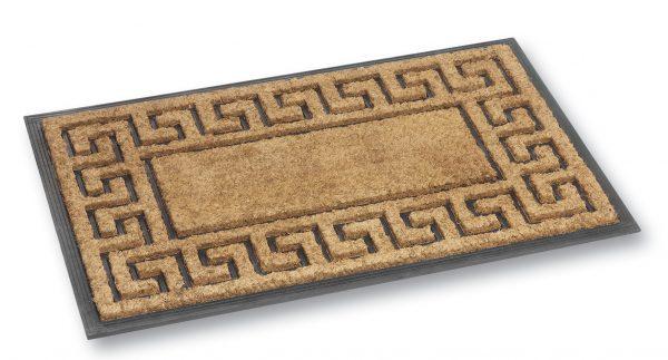 Fitzroy greek coir door mat - coir entrance mat