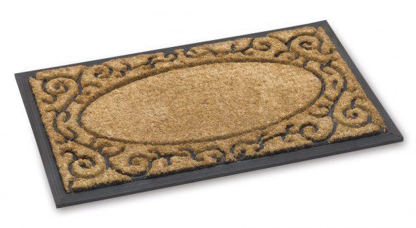 Fitzroy wrought iron coir door mat - coir entrance mat