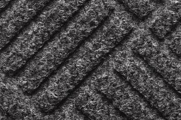 Clifden Anthracite 60 x 80cm barrier floor mat - closeup