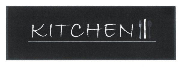 Galley kitchen runner - Polyamide printed kitchen runner non slip backing