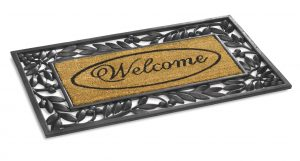Kilkenny Welcome rubber floor mat