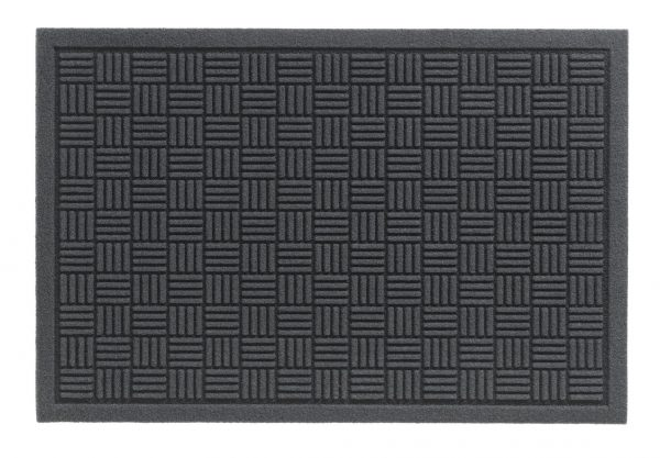 Laser Indoor Barrier Parquet grey barrier floor mat - barrier entrance mat