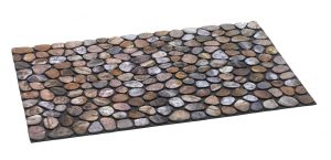 Ecomat masterpiece pebble beach door mat - Coir Brush Mats Embedded in non slip heavy rubber base