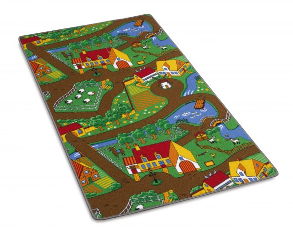 Childs country road play mat