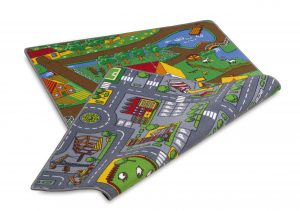 dual sided road play mat