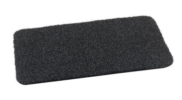 Portal Top Scrape Plain Anthracite outdoor mat Heavy Duty Polyethylene Scraper mat with flexible drainage backing