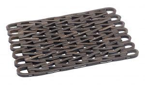 Rubber Link outdoor entrance mat - floor mat