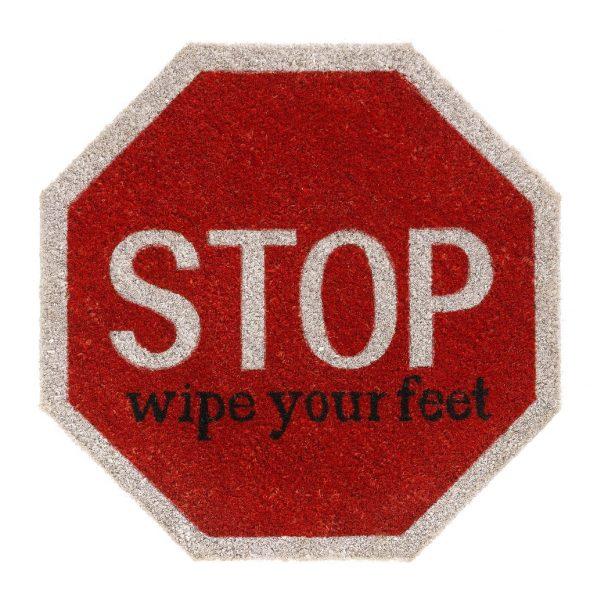 Vico Mat Stop Wipe Your Feet coir door mat - coir floor entrance mat