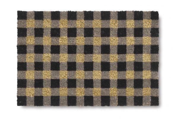 Vicco Allepey squares coir door mat - coir entrance mat