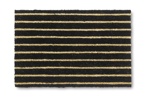 Vicco Allepey stripes coir door mat - coir entrance door mat