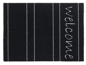 Walk 'n Wash Welcome barrier floor mat - barrier entrance mat