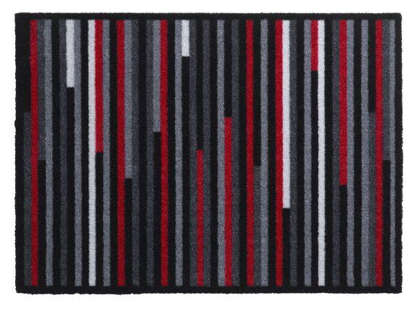 Walk 'n Wash Linea Red barrier entrance mat - barrier floor mat
