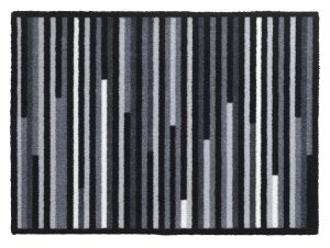 Walk 'n Wash Linea grey barrier entrance mat - barrier floor mat