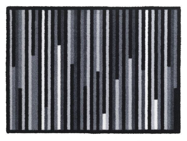 Walk 'n Wash Linea grey barrier entrance mat - barrier floor mat