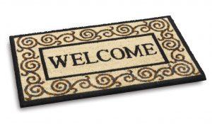 Ecoir Welcome 802 door mat - coir entrance mat