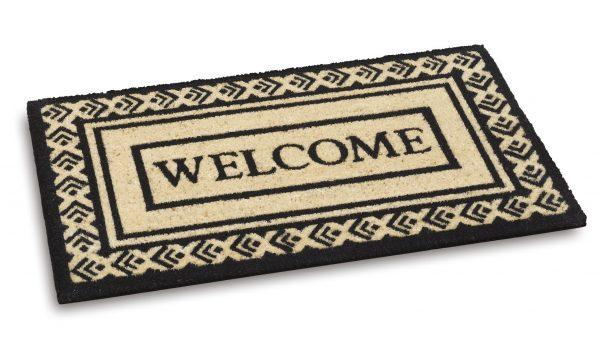 Ecoir Welcome 803 door mat - coir entrance floor mat